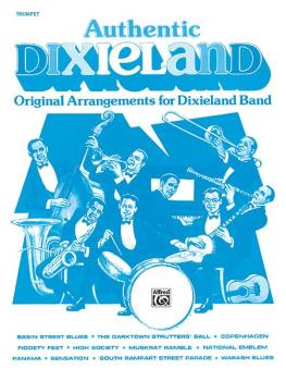 Authentic Dixieland: Original Arrangements for Dixieland Band (AL-00-TBB0037)