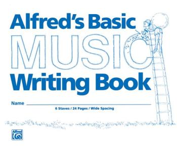 "Alfred's Basic Music Writing Book (8"" x 6"") (AL-00-200)"