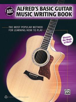 Alfred's Basic Guitar Music Writing Book: The Most Popular Method for  (AL-00-35042)