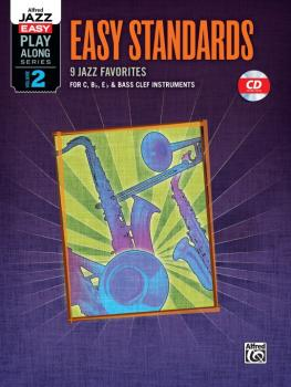 Alfred Jazz Easy Play-Along Series, Vol. 2: Easy Standards (9 Jazz Fav (AL-00-36087)
