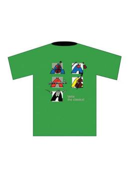 Taste the Classics! T-Shirt: Green (Large) (AL-01-ADV94025)
