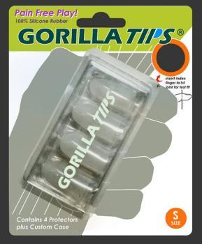 Gorilla Tips Fingertip Protectors Clear Size Small (AL-98-GT101CLR)
