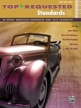 Top-Requested Standards Sheet Music: 20 Great American Songbook and Ja (AL-00-40620)