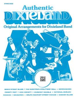 Authentic Dixieland: Original Arrangements for Dixieland Band (AL-00-TBB0040)