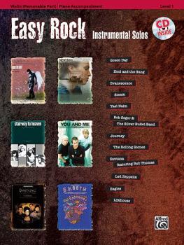 Easy Rock Instrumental Solos, Level 1 for Strings (AL-00-32615)