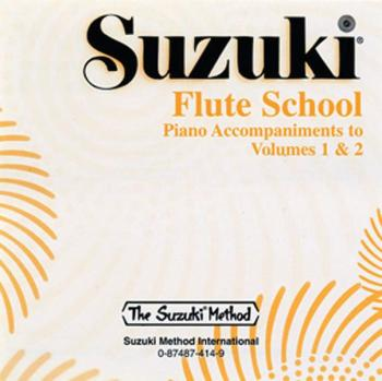 Suzuki Flute School CD, Volume 1 & 2 Piano Acc.: International Edition (AL-00-0414)