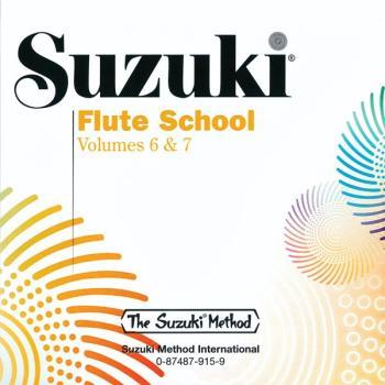 Suzuki Flute School CD, Volume 6 & 7 (Revised) (AL-00-0915)