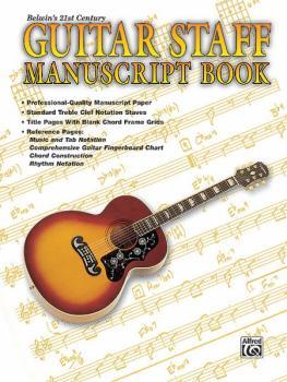Belwin's 21st Century Guitar Staff Manuscript Book (AL-00-EL9924)