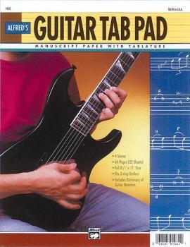 """Guitar TAB Pad (8.5"""" x 11"""") (AL-00-4400)"""