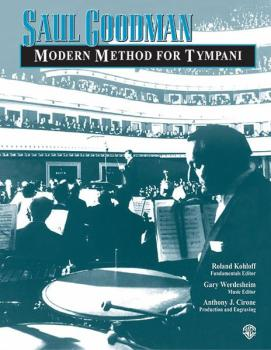 Saul Goodman: Modern Method for Timpani (AL-00-11424A)