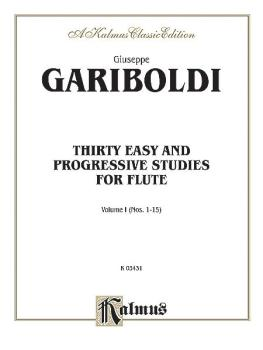 Thirty Easy and Progressive Studies, Volume I (Nos. 1-15) (AL-00-K03431)