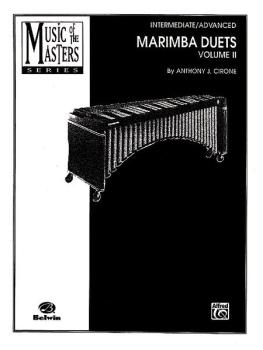 Music of the Masters, Volume II: Marimba Duets (AL-00-PERC9502)