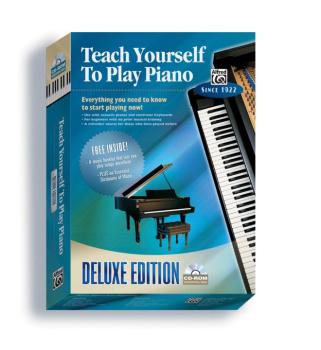 Alfred's Teach Yourself to Play Piano: Everything You Need to Know to  (AL-00-21932)