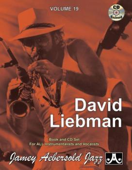 Jamey Aebersold Jazz, Volume 19: David Liebman (AL-24-V19DS)