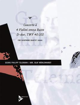 Concerto à 4 Violini senza Basso D-Dur TWV 40:202 (AL-01-ADV7465)