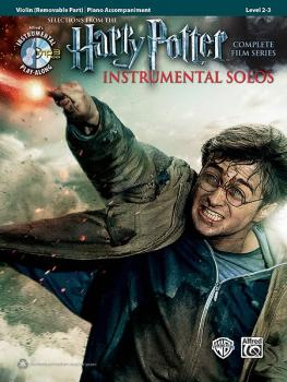 <i>Harry Potter</i>™ Instrumental Solos for Strings: Selections from t (AL-00-39235)