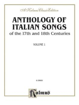 Anthology of Italian Songs (17th & 18th Century), Volume I (Vocal Coll (AL-00-K09869)