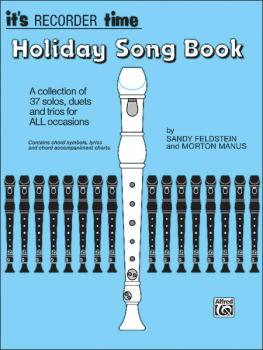 It's Recorder Time: Holiday Songbook (AL-00-2070)