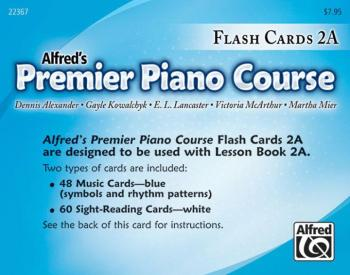 Premier Piano Course, Flash Cards 2A (AL-00-22367)