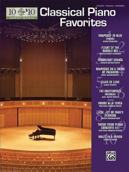 10 for 10 Sheet Music: Solo Piano Showpieces (AL-00-31475)