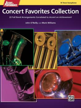 Accent on Performance Concert Favorites Collection: 22 Full Band Arran (AL-00-41391)