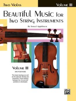 Beautiful Music for Two String Instruments, Book III (AL-00-EL02223)
