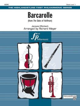 Barcarolle (from <i>The Tales of Hoffman</i>) (AL-00-18932S)