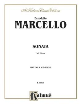 Sonata in E Minor (AL-00-K04313)