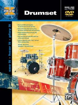 Alfred's MAX™ Drumset: See It * Hear It * Play It (AL-00-22650)