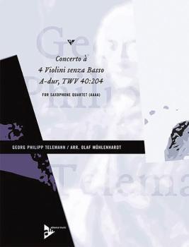 Concerto à 4 Violini senza Basso A-Dur TWV 40:204 (AL-01-ADV7467)