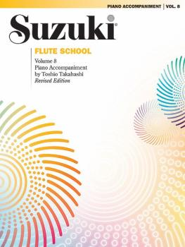 Suzuki Flute School Piano Acc., Volume 8 (Revised) (AL-00-0692S)