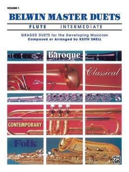 Belwin Master Duets (Flute), Intermediate Volume 1 (AL-00-EL03240)