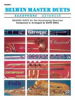 Belwin Master Duets (Saxophone), Advanced Volume 1 (AL-00-EL03254)