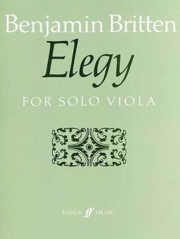 Elegy (For Solo Viola) (AL-12-0571508839)