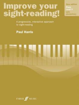 Improve Your Sight-reading! Piano, Level 3 (New Edition): A Progressiv (AL-12-0571533132)