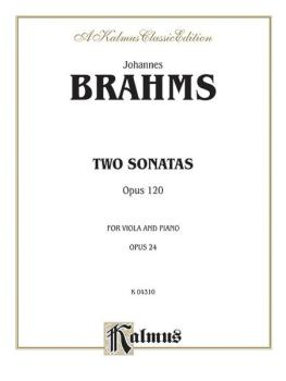 Two Sonatas, Opus 120 (AL-00-K04310)