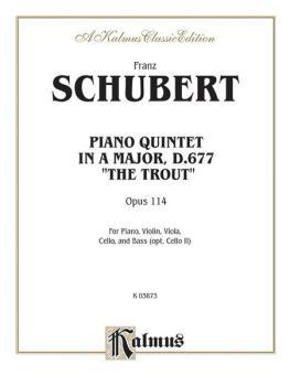 Trout Quintet, Opus 114 (AL-00-K03873)