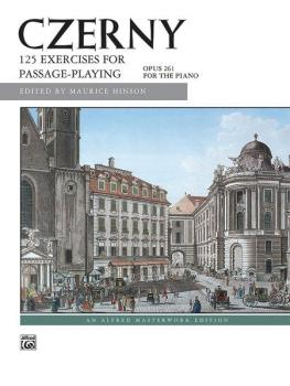 125 Exercises for Passage Playing, Opus 261 (AL-00-4838)
