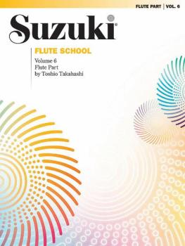 Suzuki Flute School Flute Part, Volume 6 (AL-00-0381S)