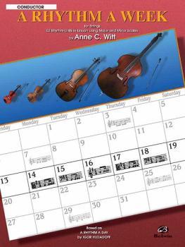 A Rhythm a Week: Based on <I>A Rhythm a Day</I> by Igor Hudadoff (AL-00-EL9802)