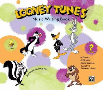 Looney Tunes Music Writing Book (AL-00-31433)