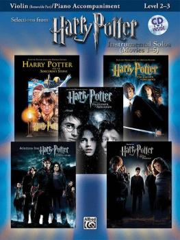 <i>Harry Potter</i>™ Instrumental Solos for Strings (Movies 1-5) (AL-00-29074)