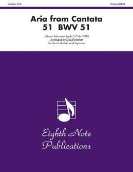 Aria (from <I>Cantata 51</I>, BWV 51) (AL-81-BQ26239)