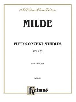 Fifty Concert Studies, Opus 26 (AL-00-K02132)