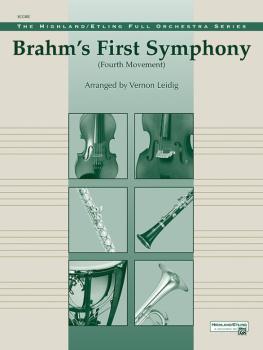Brahms's 1st Symphony, 4th Movement (AL-00-12217S)