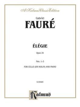 Elegie, Opus 24 (AL-00-K03485)