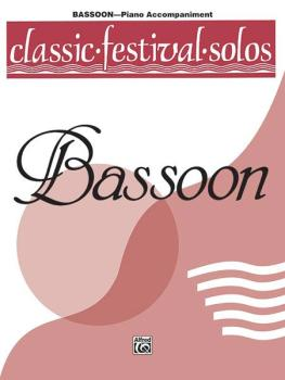 Classic Festival Solos (Bassoon), Volume 1 Piano Acc. (AL-00-EL03731)