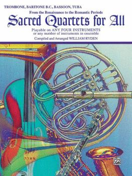 Sacred Quartets for All (From the Renaissance to the Romantic Periods) (AL-00-EL9775)