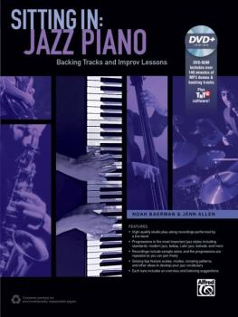 Sitting In: Jazz Piano: Backing Tracks and Improv Lessons (AL-00-42816)