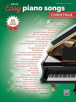 Alfred's Easy Piano Songs: Christmas: 50 Christmas Favorites (AL-00-46022)